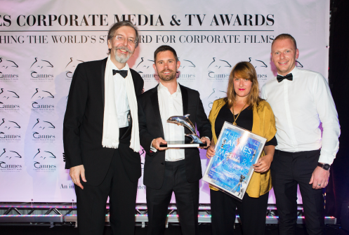 Creative agency Raw London win Silver Dolphin at Cannes