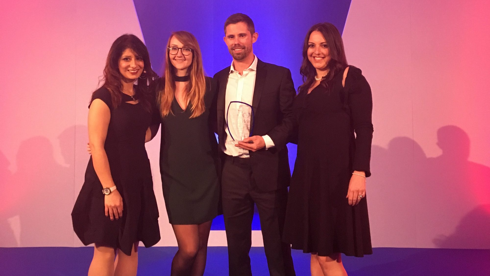 Creative agency Raw London win CSR prize at Charity Times Awards