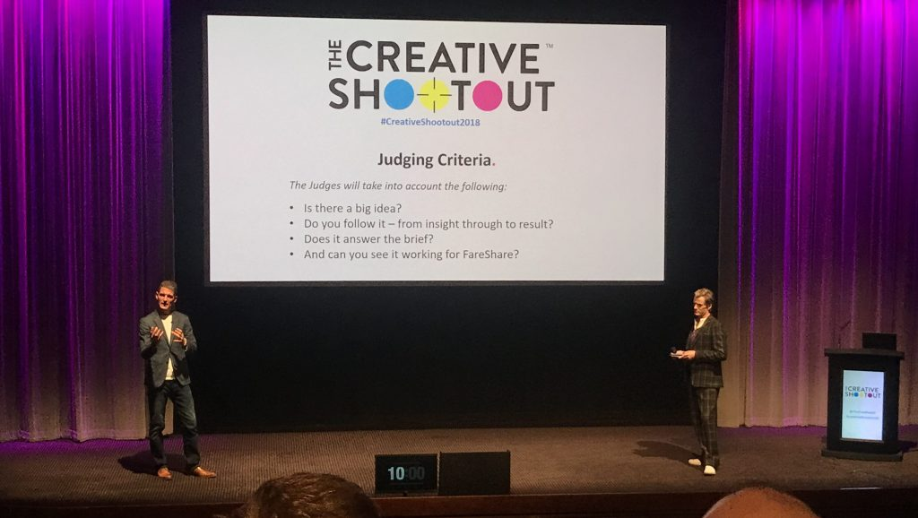 Creative Shootout 2018 Presenters Johnny Pitt
