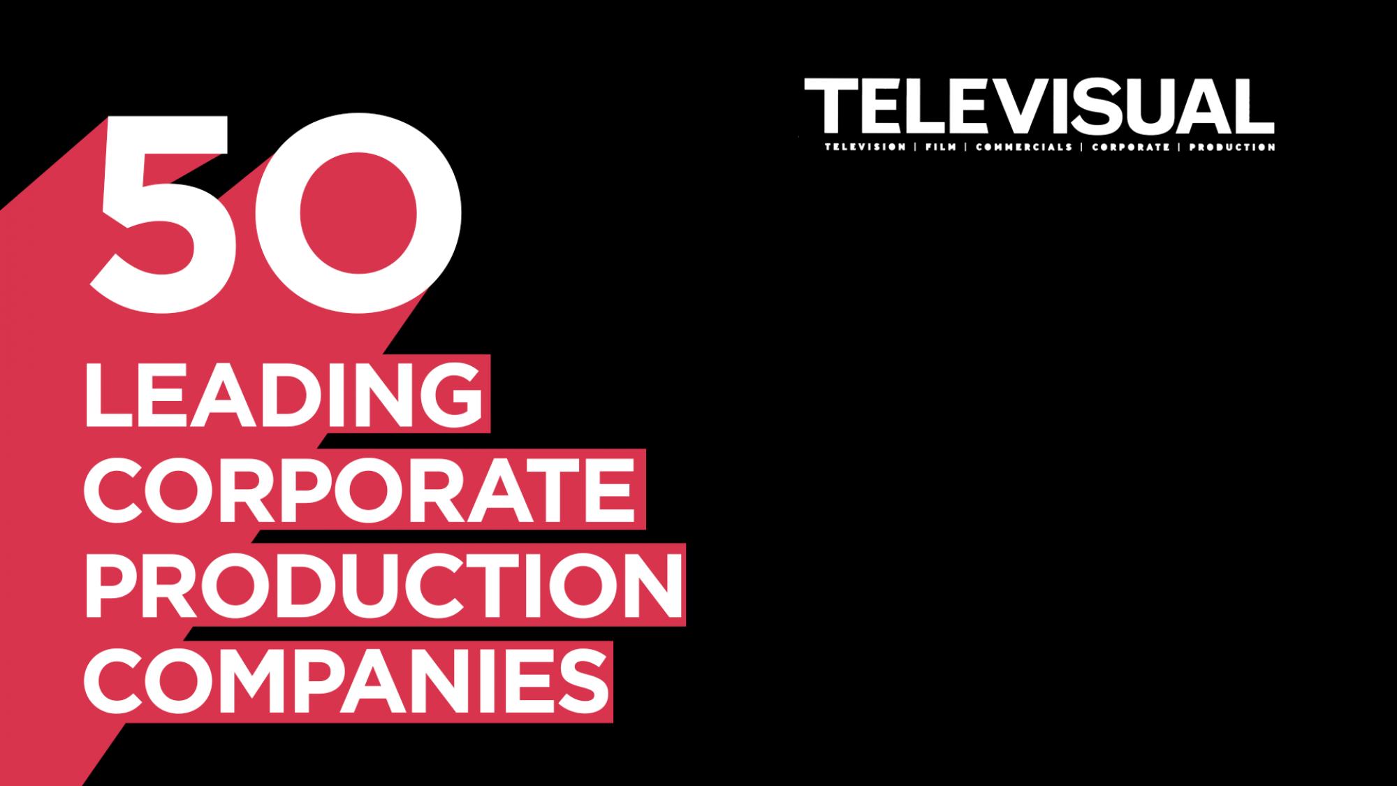Televisual Corporate Top 50 2018 logo