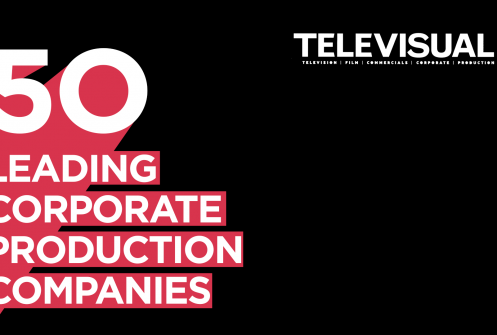 Televisual Corporate Top 50 2018 logo