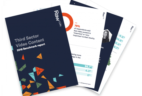 Raw London Benchmark Report 2018: Video Content in the Third Sector Main Image