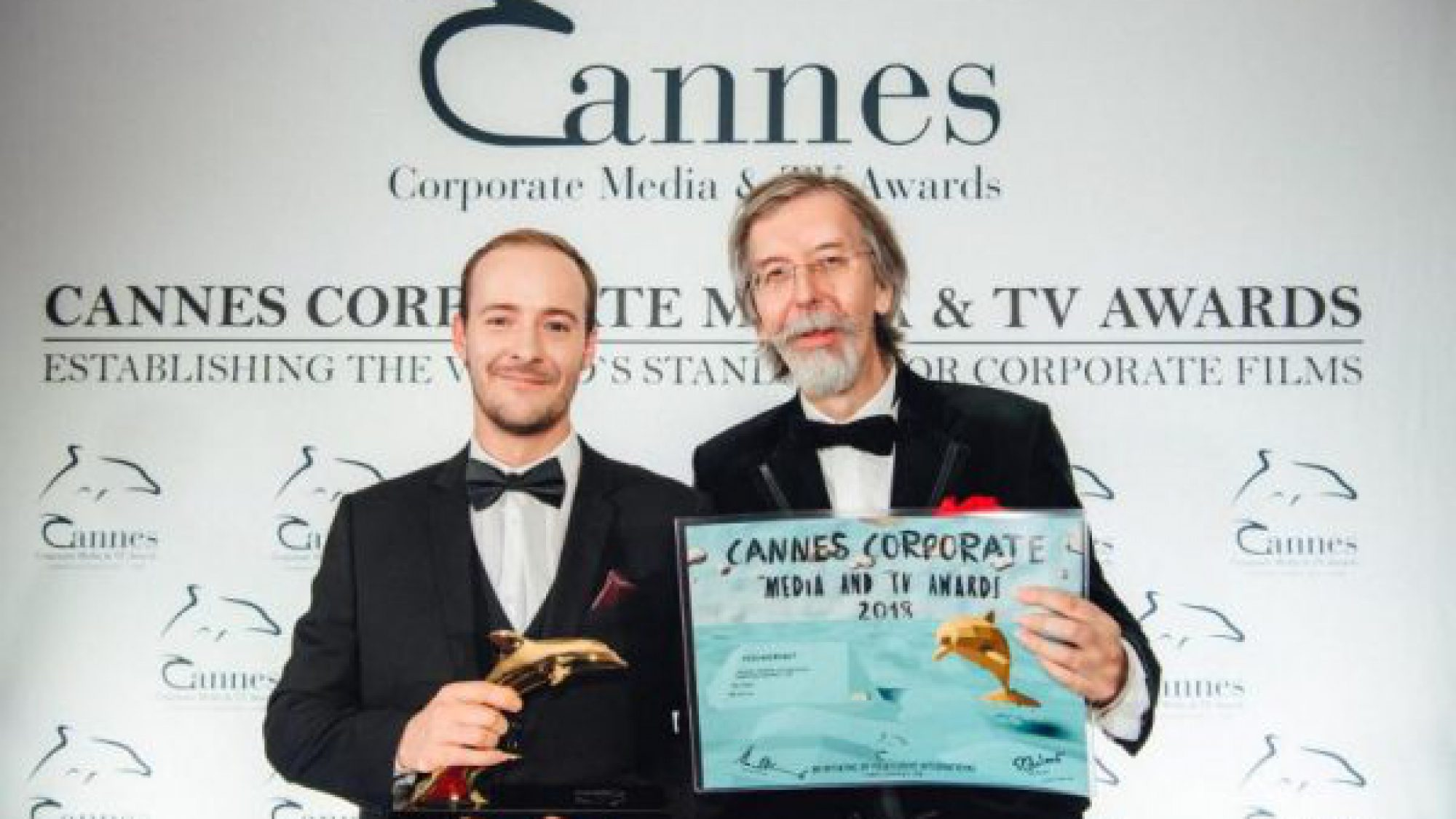 Raw London Cannes Corporate Media & TV Awards #EscapeRobot Gold Dolphin