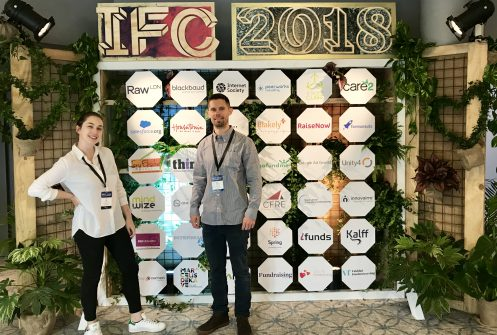 IFC 2018 Ryan Wilkins Fiona Koch Marketplace Sponsors