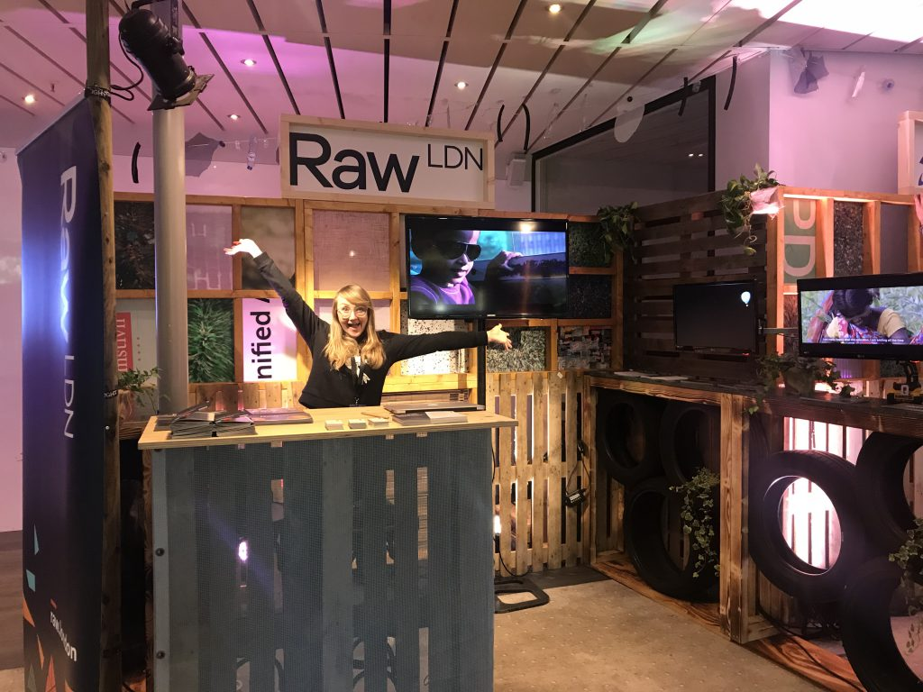 IFC 2018 Charlotte Raw London in the marketplace