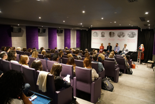 Panel discussion at Relay by Raw London