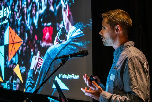 Ryan Wilkins, CEO of Raw London, hosts our Relay event in September 2019