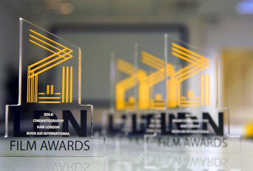 4 Trophies for Raw London at EVCOM Film Awards 2019