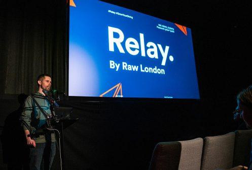Ryan Wilkins speaks at Raw London
