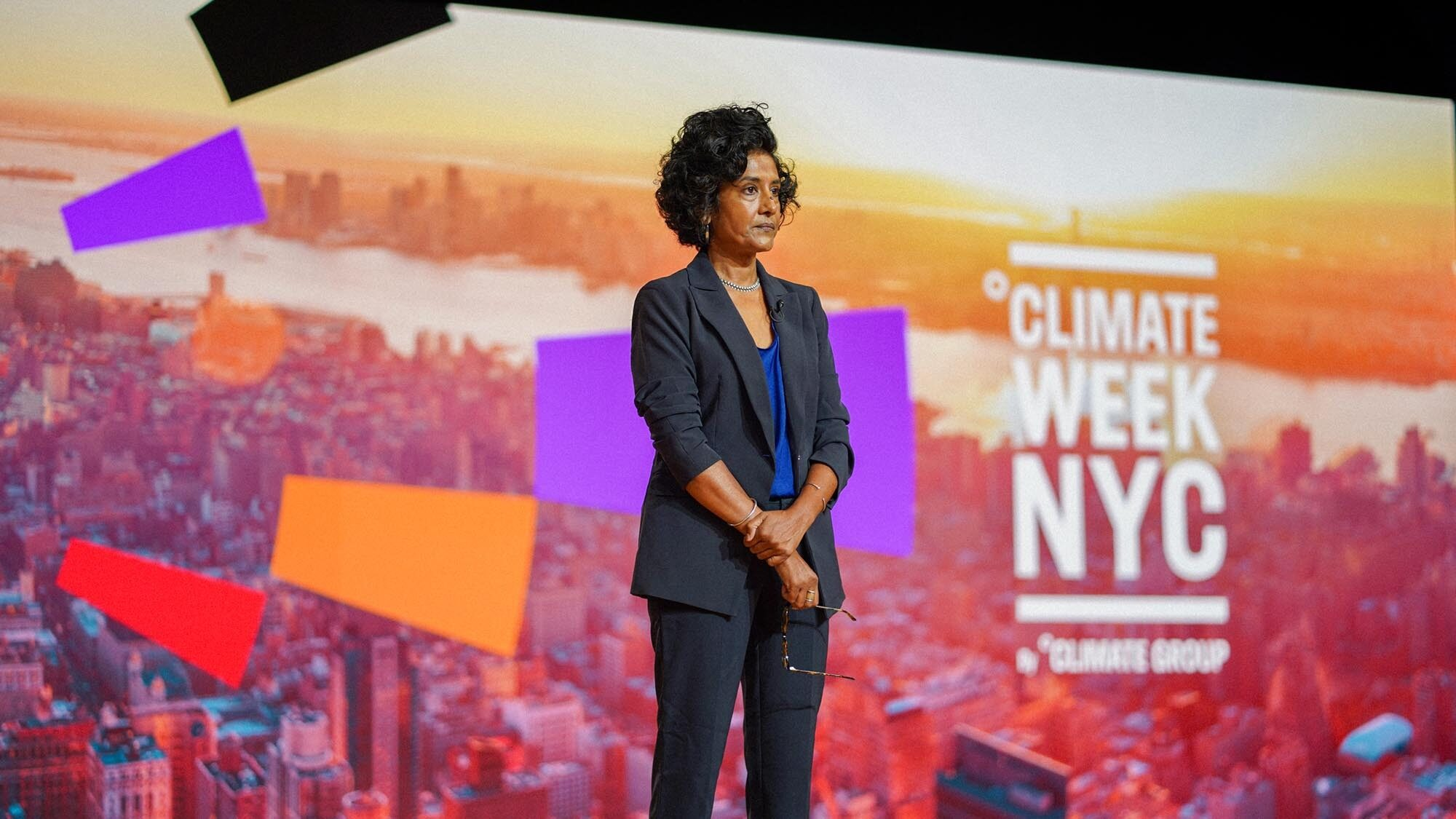Photo of speaker as Climate Week NYC makes event digital