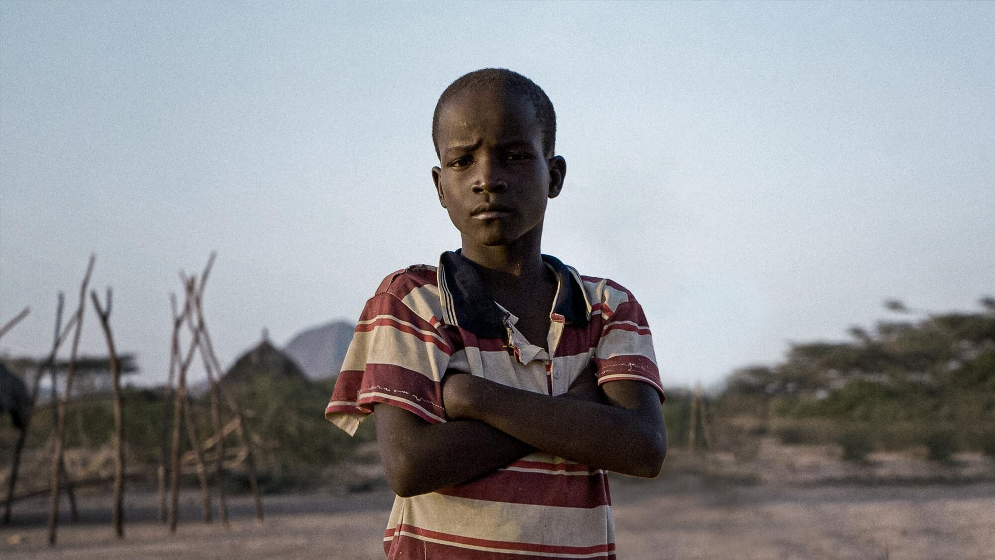Boy from Save the Children's 2019 DRTV campaign