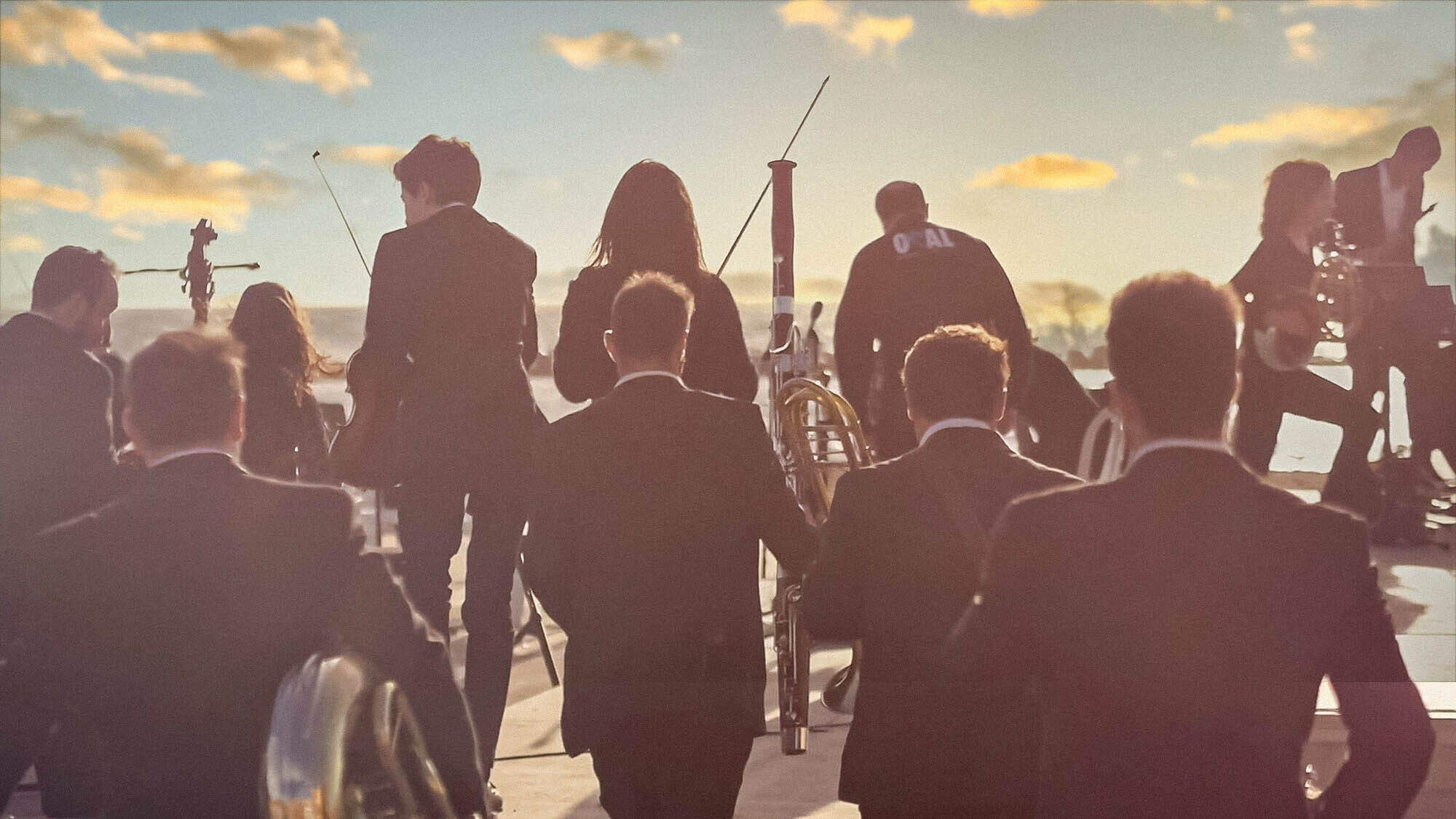 Orchestra's dream to play on the beach comes true in this global social media campaign
